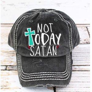 Not today satan hat